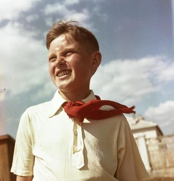 Пионер всегда готов! Архивные снимки времён СССР
