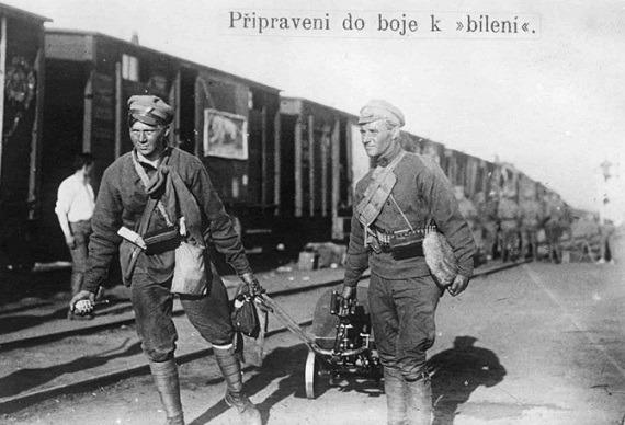 Восстание чешских легионеров в России: как началась Гражданская война